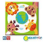 Manto DIY數字油畫-守護地球小聯盟-30*30