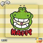 MODA DIY數字油畫拼圖-鱷魚哈哈哈