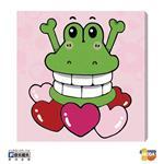 MODA DIY數字油畫-鱷魚滿滿愛
