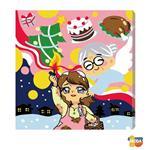 MODA DIY數字油畫-賣火柴的小女孩