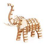 Robotime / DIY 現代拼圖模型-森林.象