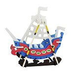 Robotime / DIY 手繪拼圖模型-海盜船