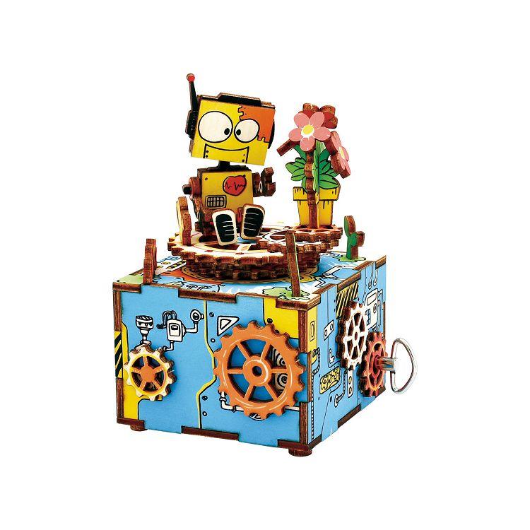 Robotime / DIY八音盒-寄予綻放