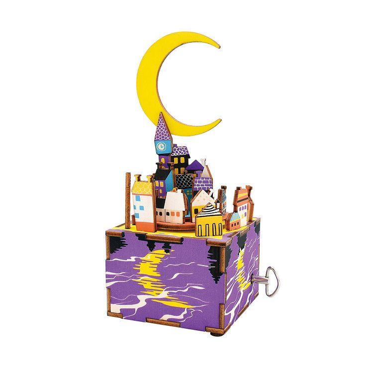 Robotime / DIY八音盒-星城月夜