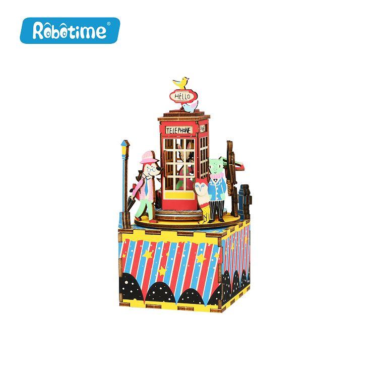 Robotime / DIY八音盒-電話圓舞曲
