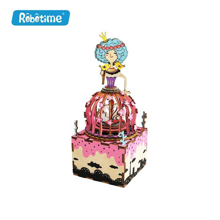 Robotime / DIY八音盒-天鵝公主