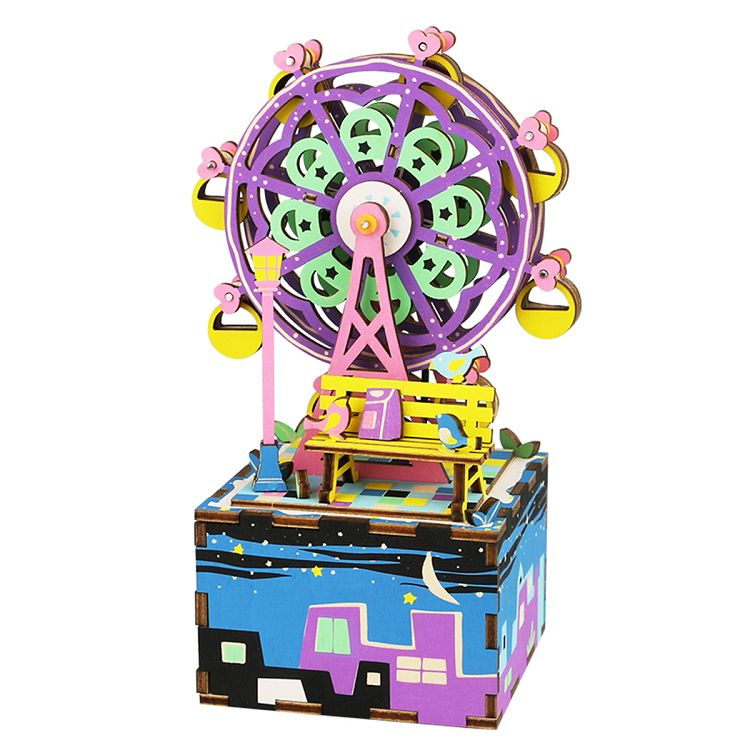 Robotime / DIY八音盒-幸福摩天輪