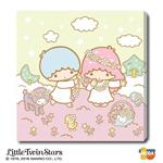 MODA DIY數字油畫-三麗鷗-Kiki&Lala的夢幻小花園