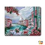 MODA DIY數字油畫-地標美景-義大利水城風情