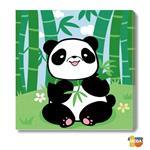 MODA DIY數字油畫-可愛小動物-萌萌貓熊