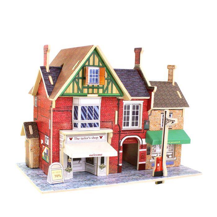 DIY 世界風情-英國金士頓禮服店