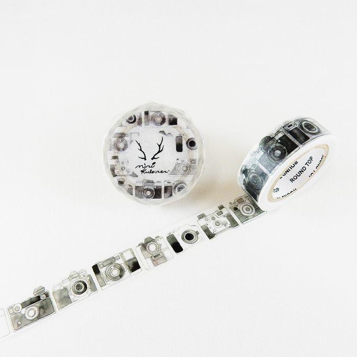 【ROUND TOP】MiriKulo:rer 原創系列和紙膠帶 - 相機 ( MI-MK-013 )