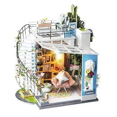 Robotime / DIY藝術屋系列-朵拉的馬卡龍陽台