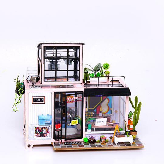Robotime / DIY藝術屋系列-凱文的搖滾工作室