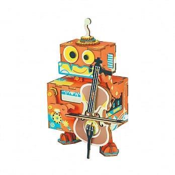 Robotime / DIY 八音盒系列-大提琴詩人