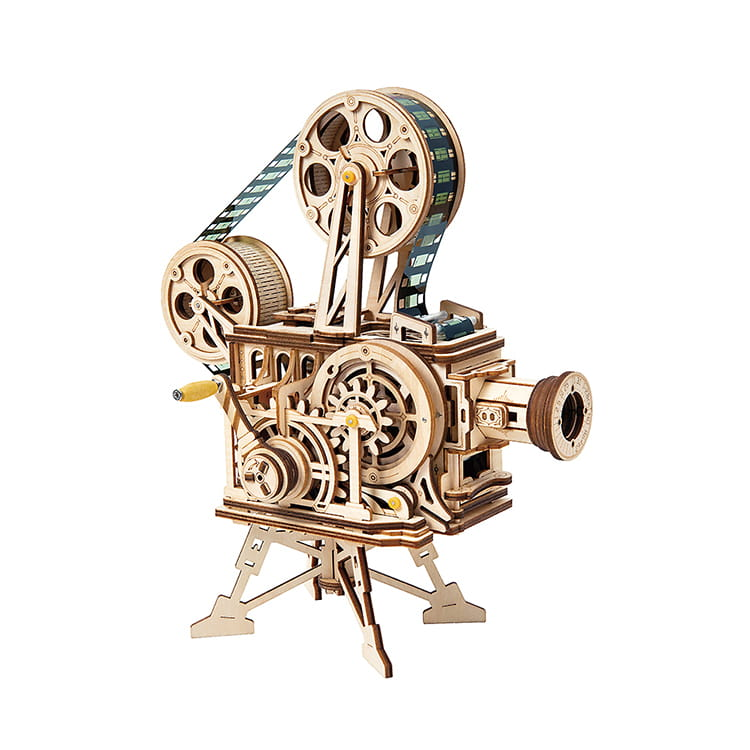Robotime / 機械工業系列-未來放映機 LK601