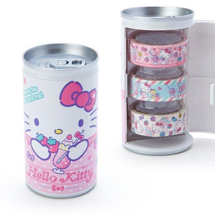 紙膠帶附罐-Kitty