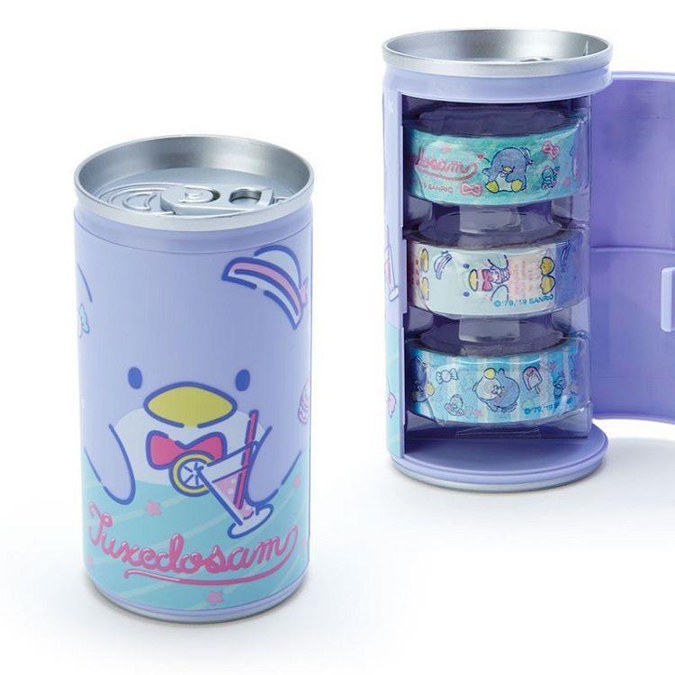 紙膠帶附罐-山姆企鵝
