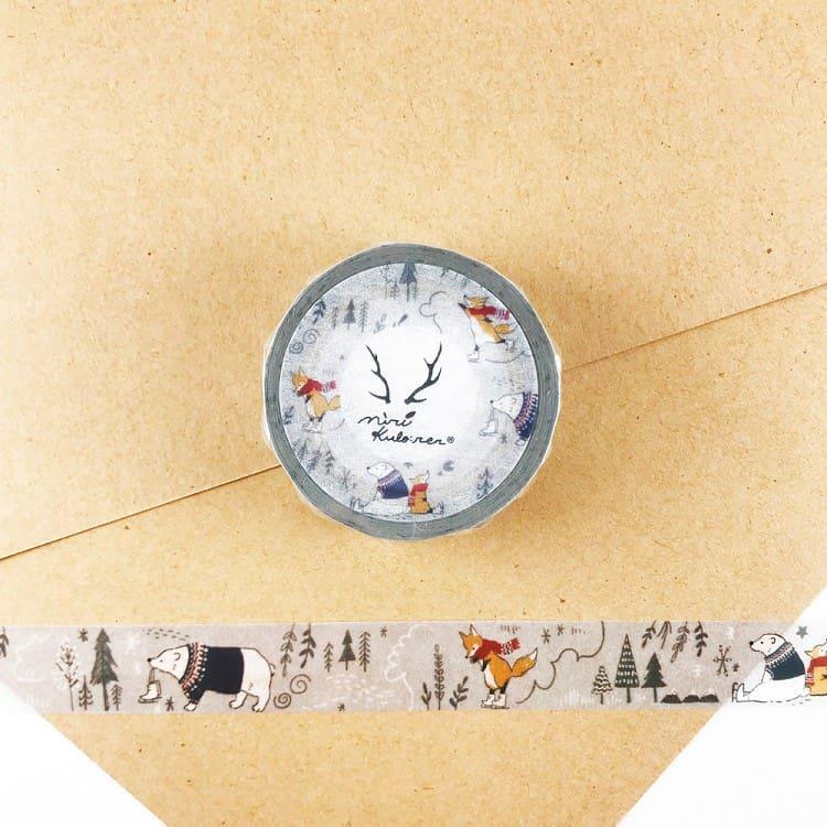 【ROUND TOP】MiriKulo:rer 原創系列和紙膠帶-norfic winter