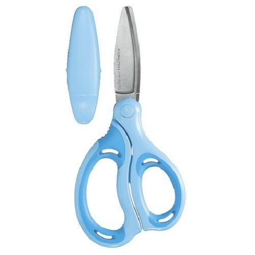 KOKUYO 空氣彈力剪刀(兒童用-藍)8210