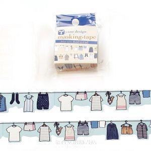 【ROUNDTOP】和紙膠帶yano design系列-曬衣