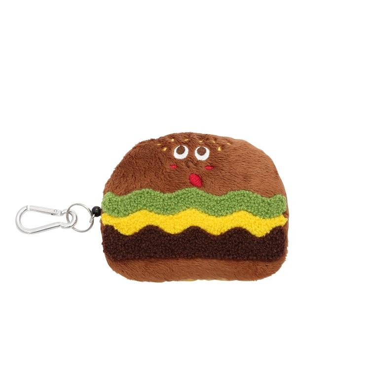 漢堡造型票卡包