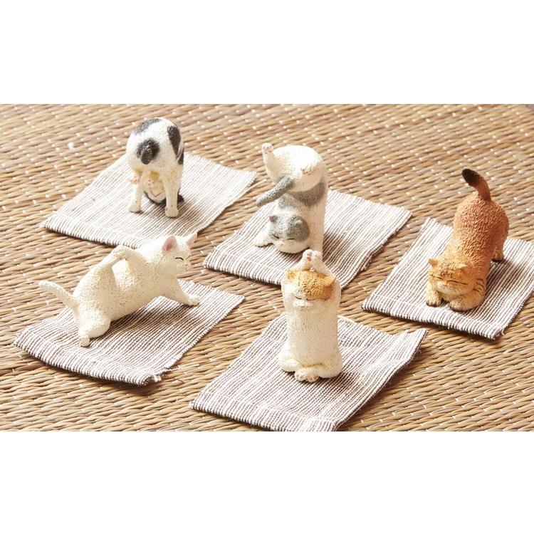 Animal Life 貓瑜珈寶寶(日版盒玩)-5款+1款隨機