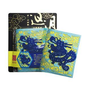 福來許神獸系列護照套-青龍