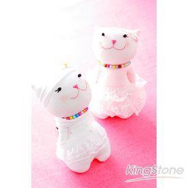 襪子娃娃材料包-俏皮貓