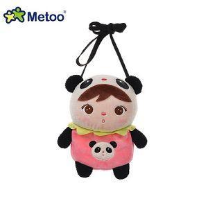 Metoo 吉寶娃娃造型零錢包-熊貓