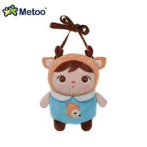 Metoo 吉寶娃娃造型零錢包-鹿