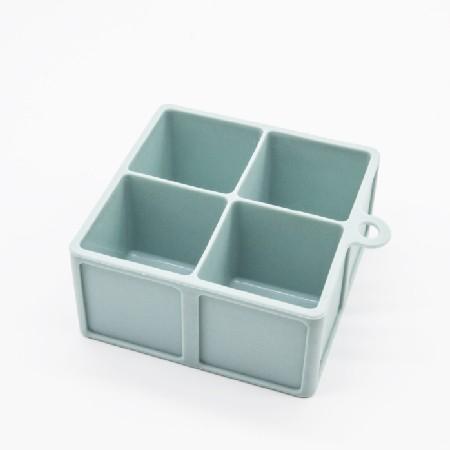 矽膠冰塊製冰盒 4格