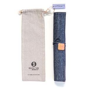武聖夜市手工棉布餐具包