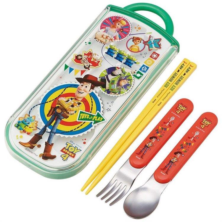 抽屜餐具3件組-玩具總動員4