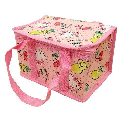Hello Kitty野餐保溫保冷立體提袋(S)