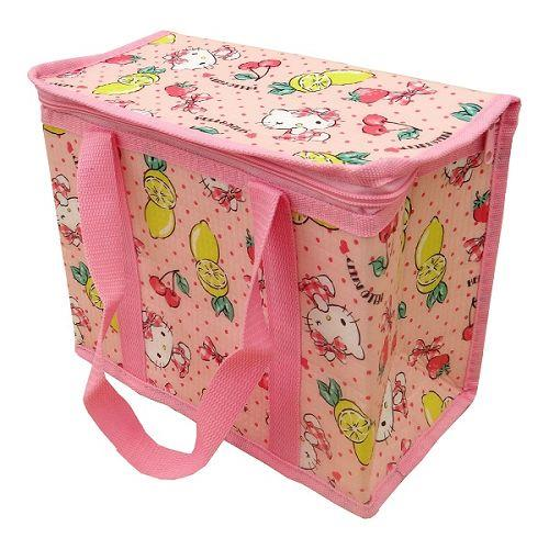 Hello Kitty野餐保溫保冷立體提袋(M)
