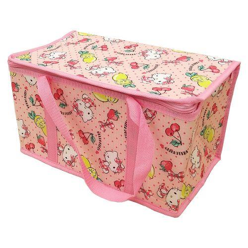 Hello Kitty野餐保溫保冷立體提袋(L)