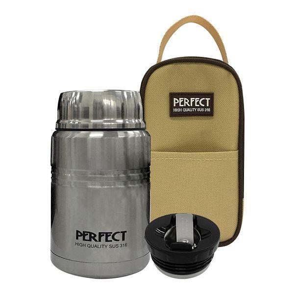 PERFECT極緻316真空燜燒罐(附提袋)500CC(不銹鋼)