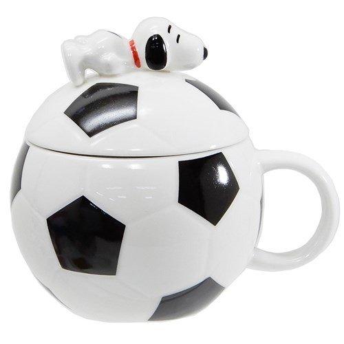 造型馬克杯-史努比/足球