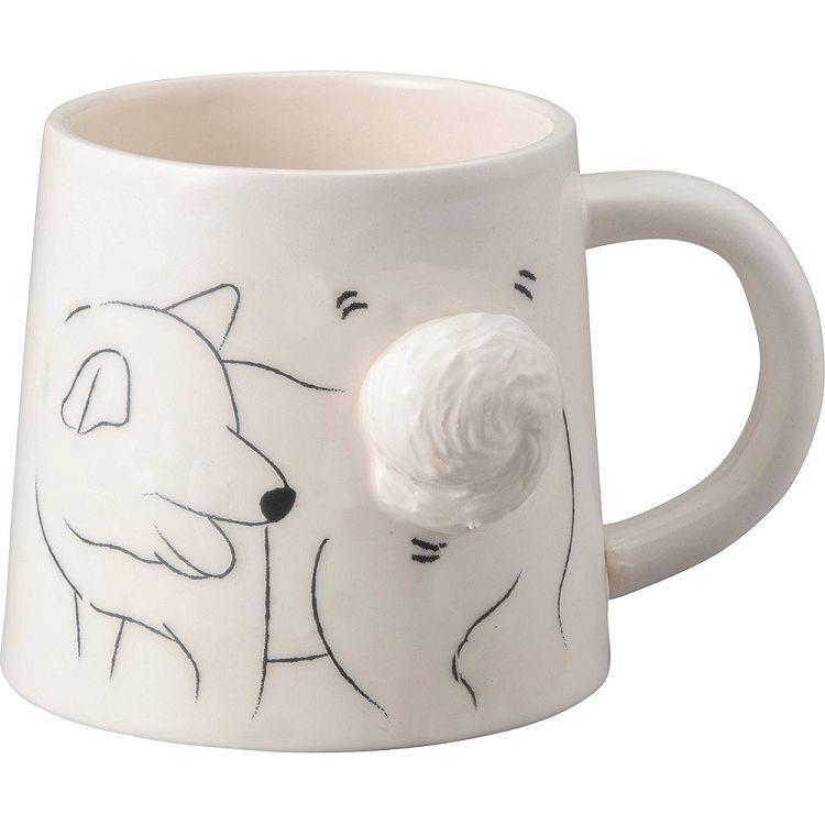 立體馬克杯-小狗