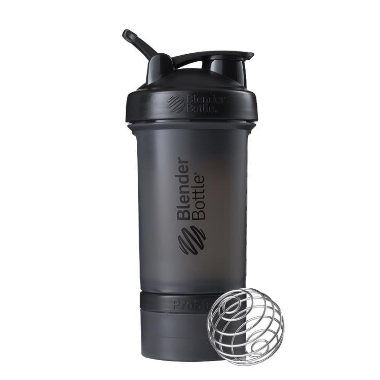 【Blender Bottle】ProStak多層分裝可拆式運動搖搖杯水壺 - 宇宙黑