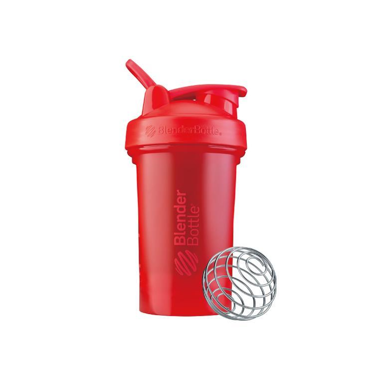 【Blender Bottle】Classic V2系列經典防漏搖搖杯(20oz)-烈焰紅