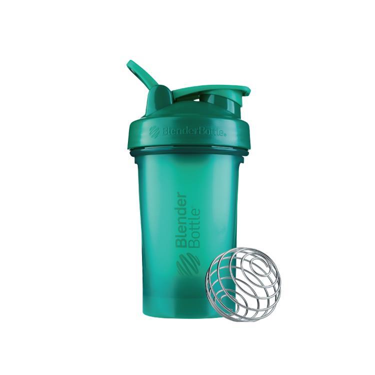 【Blender Bottle】Classic V2系列經典防漏搖搖杯(20oz)-森林綠