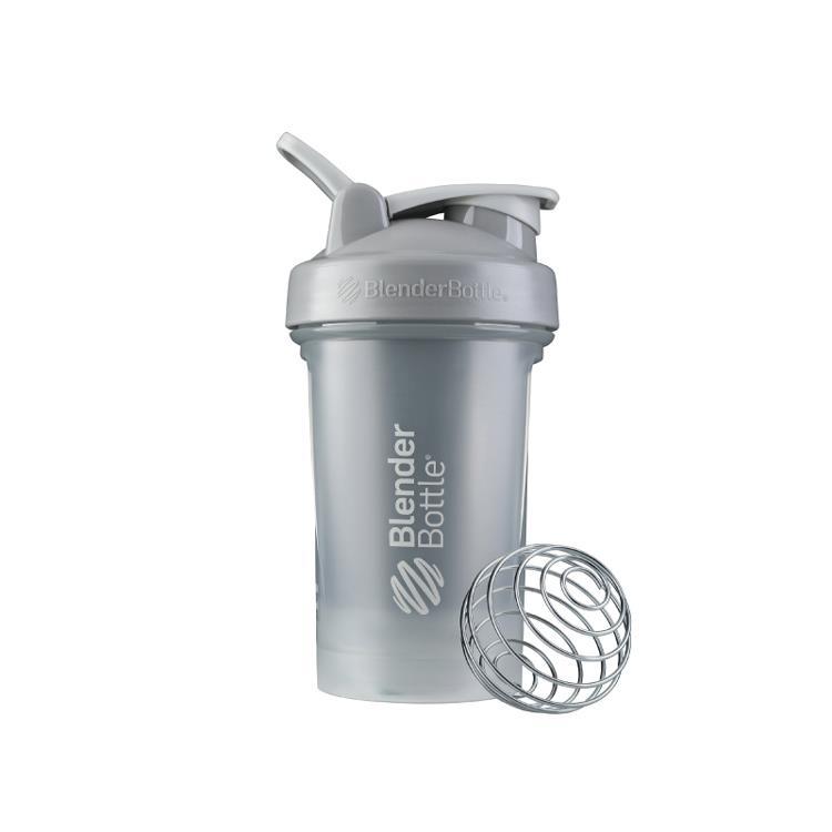 【Blender Bottle】Classic V2系列經典防漏搖搖杯(20oz)-太空灰