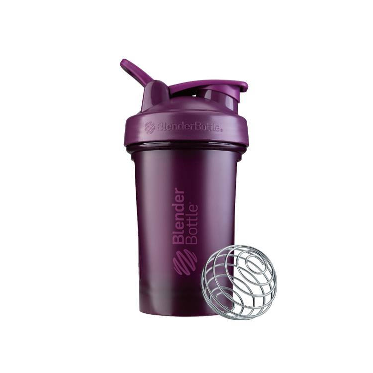【Blender Bottle】Classic V2系列經典防漏搖搖杯(20oz)-纈草紫