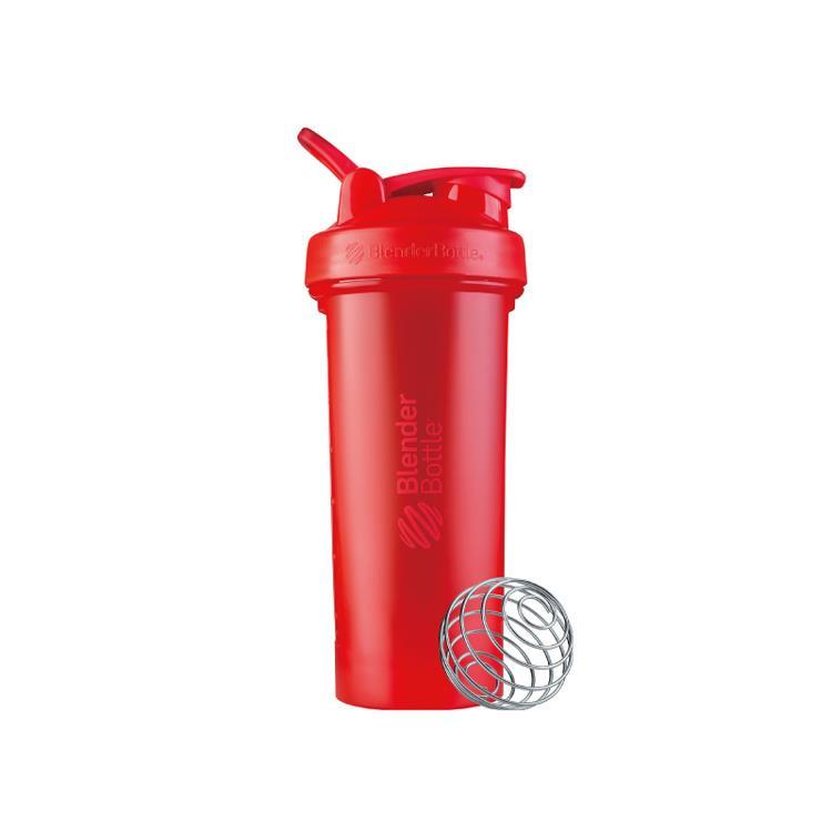 【Blender Bottle】Classic V2系列經典防漏搖搖杯(28oz)-烈焰紅