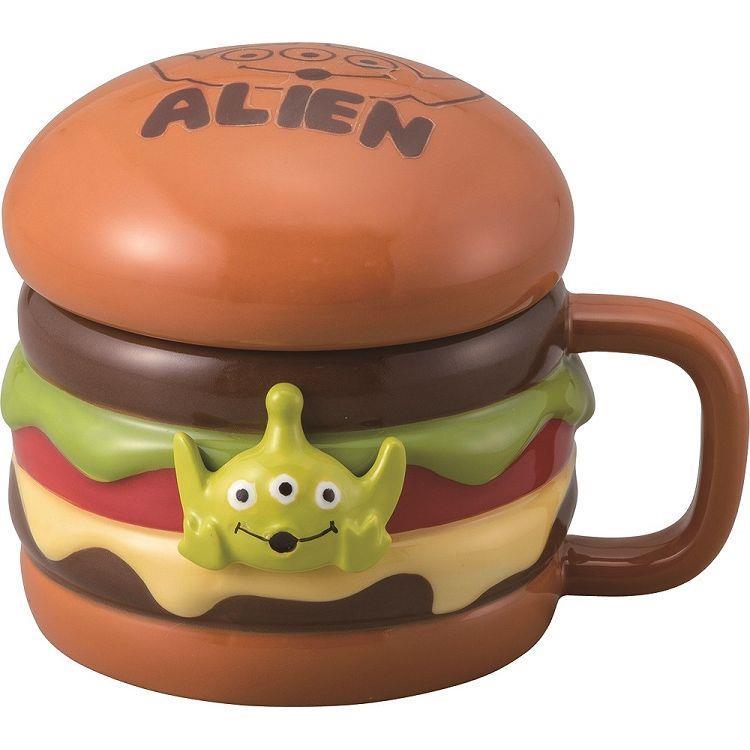 玩具總動員造型馬克杯-三眼怪/漢堡