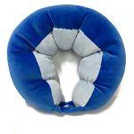 豌豆造型頸枕/藍色