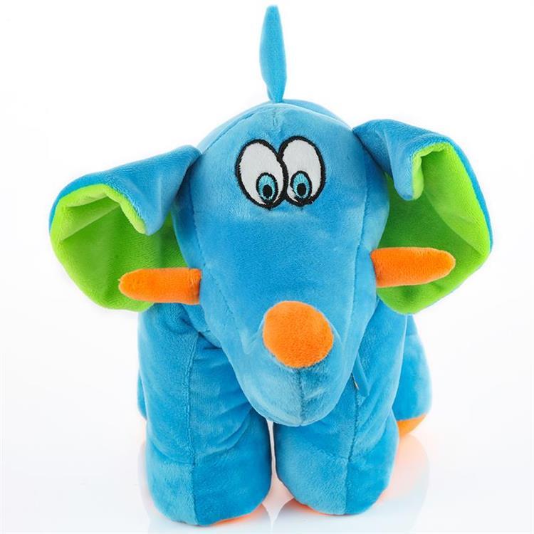 【Travel blue 英國藍旅】小象壯壯抱枕 TB289