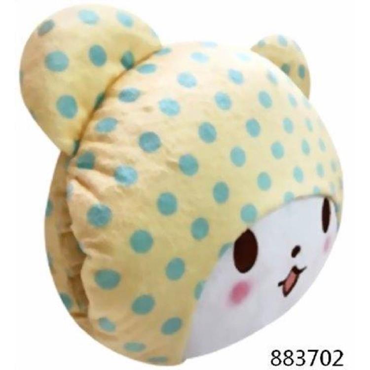 毛毯熊莫普頭形暖手枕